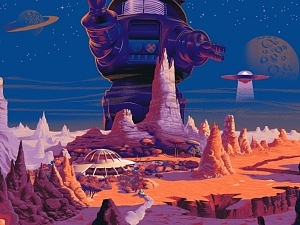 Forbidden Planet (Variant)