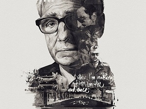 Portrait, Martin Scorsese